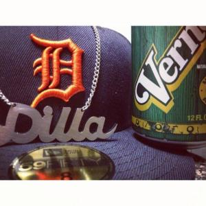 That Dilla chain though...
