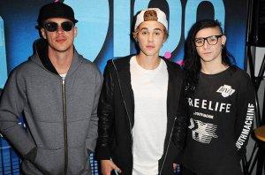 Diplo, Justin Bieber, Skrillex Photo Courtesy of Billboard.com